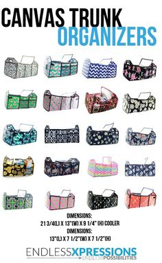 Trunk Organizers! Calling all moms!