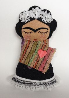 Frida kahlo by Guadalupecreations on Etsy