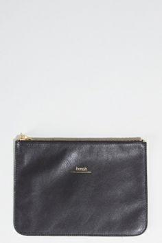 Benah Bag   Zip Pouch black
