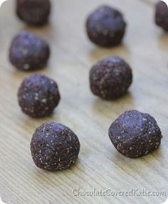 chocolate peanut butter balls. Chocolate Covered Katie