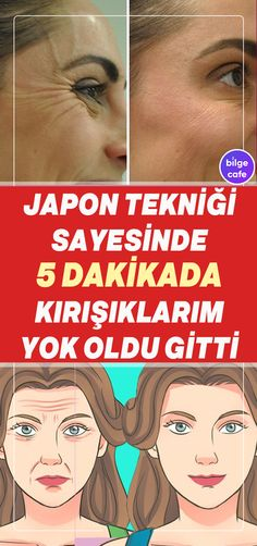 Thanks to the Japanese technique, your wrinkles will disappear and you only need 5 minutes. Beauty Skin, Health And Beauty, Hair Beauty, Eyeshadow Makeup, Face Makeup, Beauty Secrets, Beauty Hacks, Japanese Face, Face Yoga
