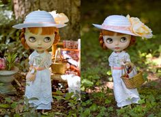 Sunday Best. Summer Dress With Sweet Bloomers by SugarMountainArt