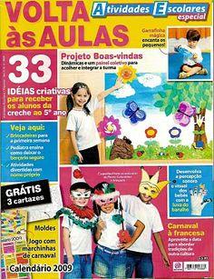 Revista Atividades Escolares - Volta às Aulas | Pra Gente Miúda