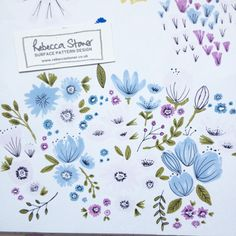 From Sketch To Collection by Rebecca Stoner www.rebeccastoner.co.uk