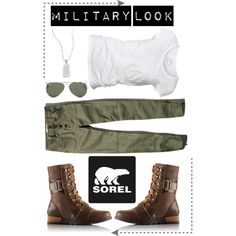 Contest Entry The Major Collection from SOREL by cindycook10 on Polyvore featuring AllSaints, Abercrombie & Fitch, SOREL, Lord & Taylor, Ray-Ban, Sorel and sorelstyle