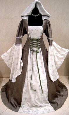 MEDIEVAL WEDDING DRESS GOTH RENAISSANCE LARP