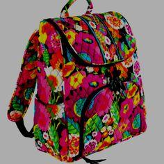 501f4c99c0d Vera Bradley backpack Vera Bradley Backpack, Vera Bradley Purses, Cute  Backpacks, Backpack Purse
