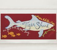 Tiger Shark Surf Plaque