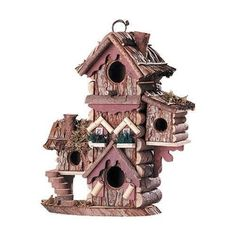 Birdhouses  Gingerbread Style Birdhouse Avian Bird House Condo New Spring makeover * This is an Amazon Associate's Pin. Clicking on the VISIT button will lead you to find similar product on the website.