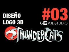 3ds Max 2012 Diseño Logo Thundercats Parte 03