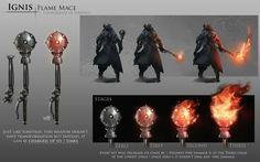 Bloodborne weapon concept art