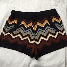 Missoni for Target shorts! Missoni for Target sweater Shorts! Excellent condition! New without tags! 2 front pockets. 3 inch inseam. Shorts are 12 inches long. Missoni Shorts