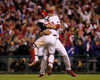 Celebrating Play-Off No Hitter
