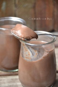 Yogures de colacao (Thermomix)