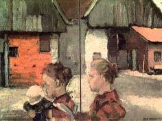 Palettes Piet Mondrian Portrait D'artiste - YouTube
