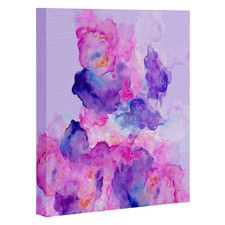 Watercolor Love 1 by Viviana Gonzalez Painting Print on Canvas