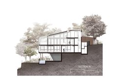 Image 27 of 28 from gallery of Seaforth House / IAPA Design Consultant. Section Architecture Drawing Plan, Architecture Sketchbook, Architecture Collage, Architecture Wallpaper, Architecture Visualization, Architecture Graphics, Architecture Portfolio, Concept Architecture, Facade Architecture