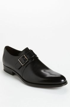 $395, To Boot New York Campbell Monk Strap Slip On. Sold by Nordstrom. Click for more info: https://lookastic.com/men/shop_items/224278/redirect