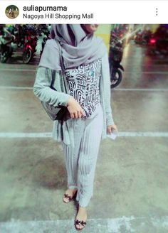 Abstract patterns with prisket pants. Grey is never bored, right?