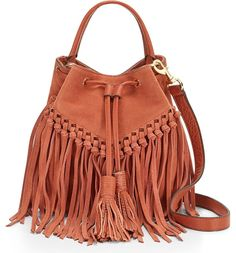 This festival-ready bucket bag by Rebecca Minkoff is pretty much the perfect warm-weather accessory.