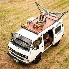 25 Van Life Ideas For Your Next Campervan Conversi. - : 25 Van Life Ideas For Your Next Campervan Conversi. Vw T3 Camper, T3 Vw, Camper Life, Rv Campers, Small Campers, Camper Hacks, Hippie Camper, Happy Campers, Mini Camper