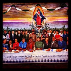 from a mural in the Latino/Chicano dorms at Stanford.