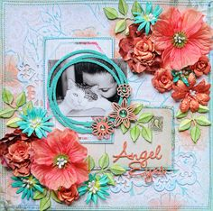 Blue Fern Studios***Angel Eyes*** - Scrapbook.com