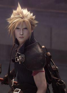 Cloud. Final Fantasy VII.