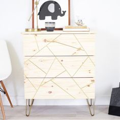 I'm super excited to share this DIY IKEA dresser with you. I wanted to give you an even more affordable option. This is SO easy to make too.