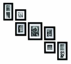 Wood Photo Frame Set Pinnacle Frame and Accents 7-Piece