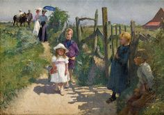 Évariste Carpentier - Summer Holiday [c.1890-95] | by Gandalf's Gallery