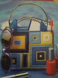 Small tote bag (plastic canvas)