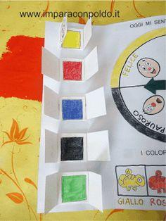 Idee e proposte didattiche per lo sviluppo e l'apprendimento. Risorse per insegnanti, educatori, genitori e Bambini Leo Lionni, Teaching Materials, Wall Murals, Origami, Feelings, My Favorite Things, Creative, Handmade, School Ideas
