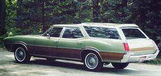1972 Oldsmobile Vista Cruiser Station Wagon