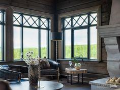 Nyoppført lekker hytte med flott og attraktiv beliggenhet. | FINN.no Bungalow, Log Homes, Windows And Doors, House Ideas, Real Estate, Cottage, House Design, Cabin, Curtains
