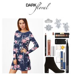 """#Dark Floral"" by princesskimdoan ❤ liked on Polyvore featuring Harry Winston, Tiffany & Co., Bobbi Brown Cosmetics, Anastasia Beverly Hills, Marc Jacobs, Yves Saint Laurent, NARS Cosmetics, Essie, MICHAEL Michael Kors and Estée Lauder"