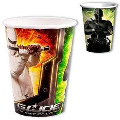 Check out the G.I. Joe Party Cups at www.karatemart.com