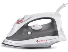 SINGER Classic Finish 1700 Watt Anti-Drip Steam Iron with Brushed Stainless Steel Soleplate and Smart Auto-Off on http://healthyandfitnesscare.com/singer-classic-finish-1700-watt-anti-drip-steam-iron-with-brushed-stainless-steel-soleplate-and-smart-auto-off