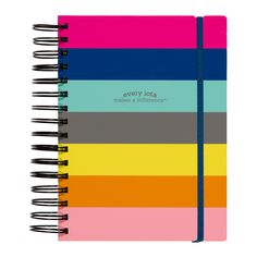 #NEW from our 2016 line of journals! The iota 3-in-1 journal includes 3 sections - ruled, grid, and sketch paper. Perfect for your everyday needs!