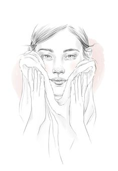 Beauty Book, Beauty Art, My Beauty, Beauty Skin, Makeup Illustration, Beauty Illustrations, Makeup Artist Logo, Skin Care Routine Steps, Bridal Hair Updo