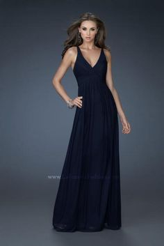 La Femme Dress 18039 at Peaches Boutique
