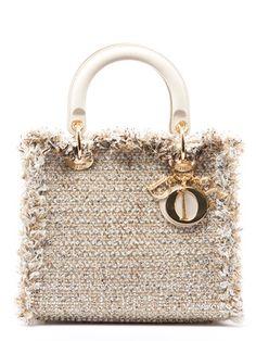 Christian Dior Tweed Lady Dior Medium Tote Bag Christian Dior Purses,  Medium Tote, Dior 35360c55df