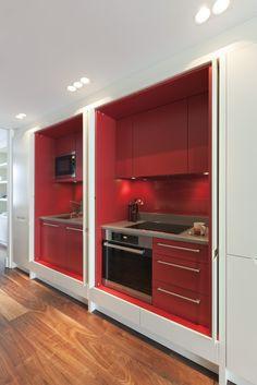 Internal (hideaway) kitchen #London