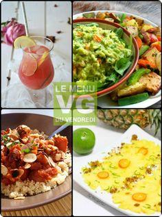 Menu VG du 27 mars 2014 Avocado Toast, Guacamole, Tacos, Mexican, Breakfast, Ethnic Recipes, Food, Vegetarian Cooking, Spring