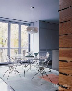 Kartell Glossy Table & Ero|S| Chairs