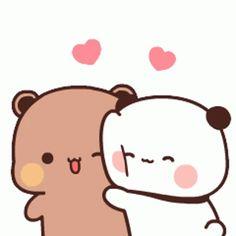 Cute Anime Cat, Cute Bunny Cartoon, Cute Kawaii Animals, Cute Cartoon Pictures, Cute Love Cartoons, Cute Cat Gif, Cute Pictures, Chibi Cat, Cute Chibi