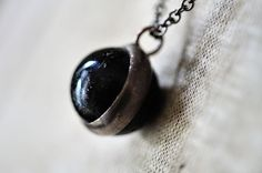 Vintage Marble Necklace by HouseThatCrowBuilt on Etsy, $20.00