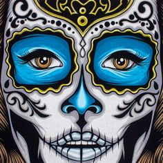 Referência: Adornos Nariz, Boca. Pale Horse 'La Calavera Catrina' Print | Pale Horse official storefront powered by Merchline