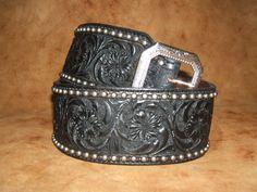 Belts - Jenn Bunney Western Art& Custom Leatherwork