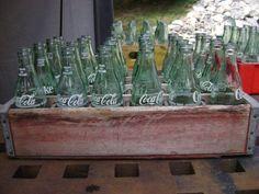 Coke Bottles in Wooden Crate Vintage Coke, Coca Cola, Crates, Bottles, Mom, Painting, Vintage Coca Cola, Coke, Painting Art